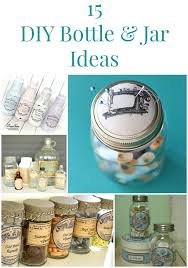 Cute Jar Decorating Ideas 100 DIY Bottle and Jar Ideas The Graphics Fairy 28
