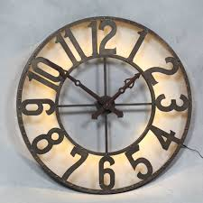 large silver square clock black and white kitchen wall clocks large circular wall clocks
