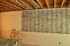 unfinished basement wall ideas covering throughout decorations 46