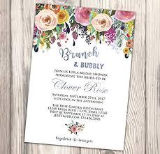 Couple Wedding Shower Invitations Amazon Com Brunch And Bubbly Bridal Shower Invitation