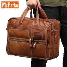 vintage laptop leather bag men briefcase office bags for men genuine leather briefcases business man 15 6 inch laptop bag brown leather laptop bags leather