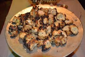 نتيجة بحث الصور عن Shish kebab of fish