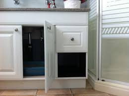 Wooden Litter Box Cabinets Hidden Litter Box Take Out Drawer On One Side Of Cabinet Line