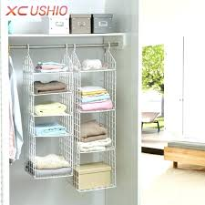 storage bins for closet shelves plastic storage closet folding wardrobe clothes underwear storage rack hooks home