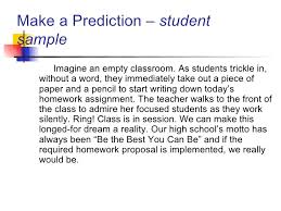 persuasive essay conclusions ospi 11 make a prediction student sample