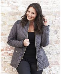 Larry Levine Plus Size Hooded Faux-Fur-Trim Quilted Puffer | 12 ... & Larry Levine Plus Size Hooded Faux-Fur-Trim Quilted Puffer | 12 Days of  Diva | Pinterest | Fur trim, Fur and Coats Adamdwight.com