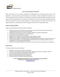 Sample Resume For Computer Support Specialist Professional Resume