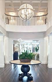 surprising two story foyer chandelier 30 size for height 2 entryway