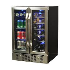 built in dual zone wine cooler. Beautiful Wine 18Bottle And 60 Can Dual Zone BuiltIn Compressor On Built In Wine Cooler B