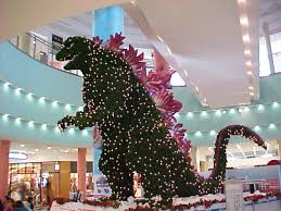 Pining for those classic Japanese monster movies that had you sitting on  pins and needles? Well fir not, er, fear not! The giant Godzilla Christmas  Tree ...