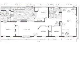 double wide floor plans 4 bedroom 3 bath. Simple Plans Bedroom Bath Mobile Home Also 4 Double Wide Floor Plans For 3 L