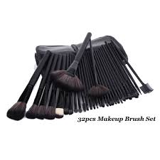 32pcs professional cosmetic makeup brush set with pouch bag beauty makeup tool kit cm 2859