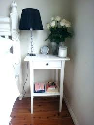 tall bedside tables side table white bedroom tables simple round wood bedside with regard to small tall bedside tables