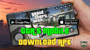 GTA 5 Mobile Download for Android & iOS - APK GTA V - YouTube