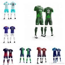 Football Shirt Designs 2019 Oem Design Men Women Football Shirt Maker Wholesale Soccer Jersey Large Size Custom Youth Boy Futbol Training Uniforms From Jiejiejersey 23 36