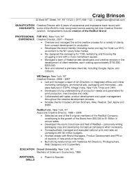 Copywriter Resume Creative Advertising Resume Templates RESUME 67