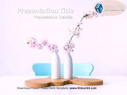 Flower Powerpoint Flower Power Point Template