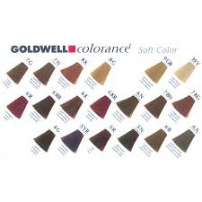 Goldwell Colorance Chart Goldwell Color Chart Permanent