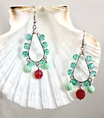 open the loop of the ear wire and attach it to the top loop of the teardrop chandelier finding 10 repeat steps 1 9 to create the second earring
