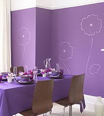 wall paint colors. Paint Simple Line Drawings Of Flowers On Walls Painted A Bold Color. Cheaper Than Wallpaper And Original Art. More Boring Wall Colors