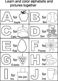 Alphabet Pages For Preschoolers Letter S Coloring Pages Preschool