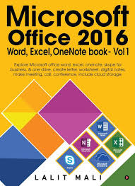 Microsoft Office Meeting Microsoft Office 2016 Word Excel One Note Book Vol 1