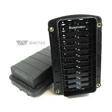 bussmann 15713 24 12 22a rear terminal fuse block 15713 24 12 22 fuse block