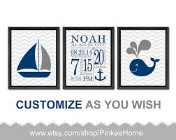 like this item  on etsy personalized baby wall art with nautical birth stats wall art nautical personalized baby gifts