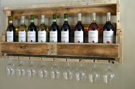 Easy DIY Projects | Make Your Own Pallet Wine Rack