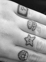 to love these symbols if you happen to be a gamer who doesn t love super mario bros these are some pretty cute symbols that make for some fun tattoos