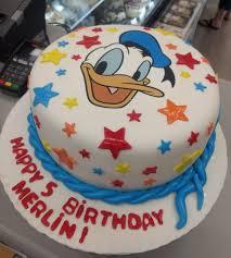 Donald Duck Custom Birthday Cake By Goodies Winnipeg Bakery