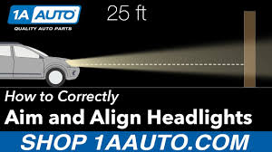 2013 Prius Bulb Chart Aiming Headlights How To Get The Proper Alignment