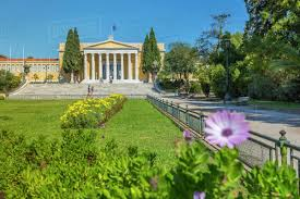 view of the zappeion palace in the national garden athens greece europe