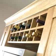 wine rack cabinet above fridge. Wine Rack Cabinet Insert Kitchen New With Regard To Plan 7 . Above Fridge