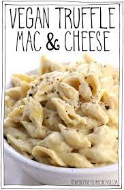 vegan truffle mac and cheese it doesn