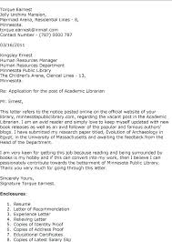 cover letter for librarians academic librarian cover letter librarian cover letter library