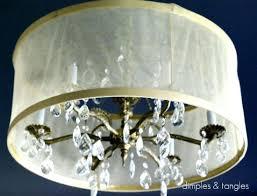 diy drum lamp shade chandelier black string drum lamp shade with assembly drum lamp shades and