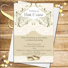 10 personalised gold wedding invitations n56 Personalised Drawing Wedding Invitations Personalised Drawing Wedding Invitations #44 Peacock Wedding Invitations