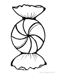 Candy Picture To Color M M Candy Coloring Pages Candy Cane Coloring