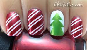 Simple & Easy Christmas Tree Nail Art Designs & Ideas 2013/ 2014 ...