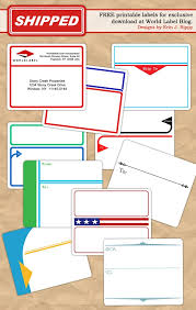 address label templates free to and from designed shipping label templates worldlabel blog