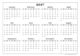 Printable 2017 Calendar 100 Calendar Printable monthly calendar template 2