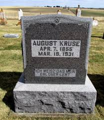 August Kruse (1856-1931) - Find A Grave Memorial