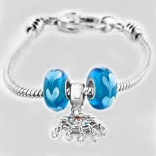Pandora Dream Catcher Charm Blue Heart Murano Glass Drip Gum Dangle Dream Catcher Charm Bead 18