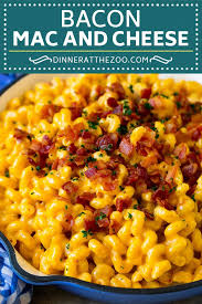 bacon mac and cheese dinner at the zoo