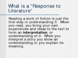 response to literature essay the rankin file writing blog