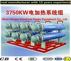 2KW~1000KW Explosion Proof Electric Heater Element Diameters Optional