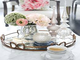How To Decorate A Coffee Table Tray coffee table tray decor huttriver 34