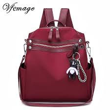 Vfemage <b>Oxford Women Backpack</b> Fashion Female <b>Small</b> Bagpack ...