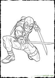 Small Picture Get This Online Deadpool Coloring Pages 476857